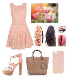 """Happy Easter!☺"" by blessed-with-beauty-and-rage ❤ liked on Polyvore featuring Yumi, Charlotte Russe, Michael Kors, Henri Bendel and Forever 21"