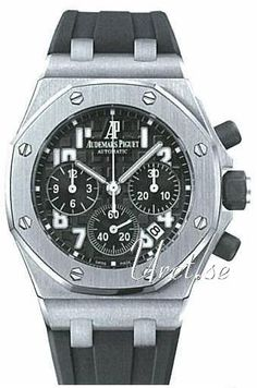 Audemars Piguet Royal Oak Offshore Chronograph Svart/Gummi Ø37 m
