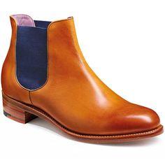 Barker Ladies - Violet - Chelsea Boots - Cedar Calf