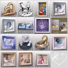 Jahresrückblick 2016- meine Werke, Handabdruck & Fußabdruck Baby, Ivana Irmscher Be happy Gipsabdruck Fürth, www.be-happy-gipsabdruck.de