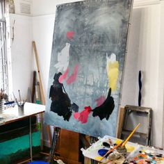 The beginning of a painting is always an exciting stage, so many unknowns! An image of the Durban studio. Painting Process, Stage, Studio, Art, Idea Paint, Art Background, Kunst, Studios, Performing Arts