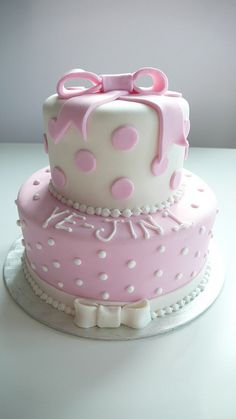 Little Girls 1st Birthday Cake by CAKE Amsterdam - Cakes by ZOBOT, via Flickr