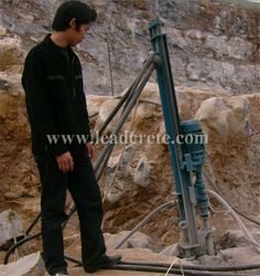 application of drilling machine