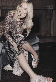 Elle Fanning by Benny Horne for Miss Vogue Australia