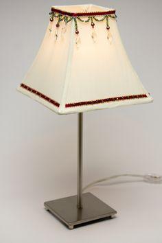 DIY Beaded Lampshade   DIY Crafts #CousinCorp. DIY LampsTable ...