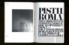The elusive Pistilli Roman.