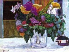 Still Life - Pierre Bonnard Post-impressionism Pierre Bonnard, Oil Painting Flowers, Oil Painting Abstract, Watercolor Artists, Painting Art, Watercolor Painting, Art Floral, Art Pierre, Painting Still Life