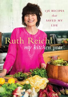 In her first cookbook in 43 years, Ruth Reichl shares the recipes that helped her find her way. With minimal fuss—no stylists or extra lights; the book was photographed at Reichl's Hudson Valley home—and reflecting her life on Twitter, each recipe includes a tweet Reichl sent the day it was made.