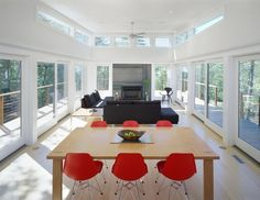 Mountain Retreat - communal space - modern - living room - new york - by Resolution: 4 Architecture