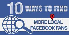 find local facebook fans