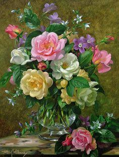 Мобильный LiveInternet Классика. Красота цветочного букета | Albert Williams (часть 3.) | Arwen_U - Дневник Arwen_U |
