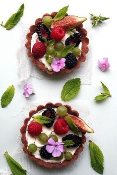 "bluehome91: ""Berry tart """