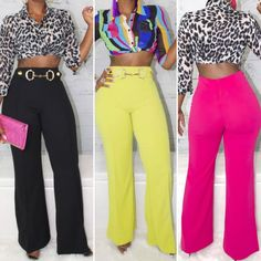 """Fashion Is My Fuel 💋 on Instagram: """"These Are The BEST High-Waist Slacks with #Awesome Stretch to add to your Wardrobe!  Tap the purse icon or Click🖱️ the Link in the Bio! . .…"""" Slacks, Stretches, High Waist, Capri Pants, Good Things, Purses, Awesome, Link, Instagram"""