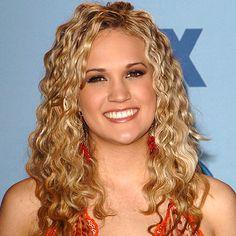 Carrie Underwood wears Melinda Lawton Jewelry (earrings) when she wins American Idol