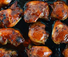 Peachy BBQ Chicken.  From prep to clean up, it doesn't get any easier than this!