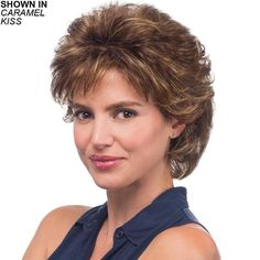 Find the Diana Wig by Estetica Designs Wigs. Diana has a volume top with in & out curl with flip in back. Short Layered Haircuts, Short Hairstyles For Women, Easy Hairstyles, Pixie Haircuts, Short Curly Hair, Wavy Hair, Short Hair Cuts, Thick Hair, Fine Hair