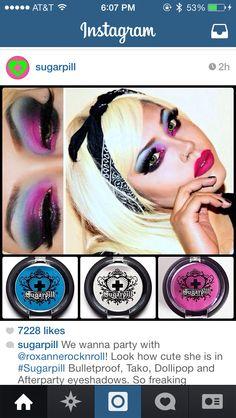 colorful sugarpill makeup
