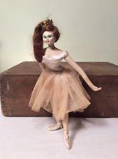 Vintage 1950s Ballerina Layna Cloth Doll