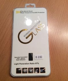 WORTEK - Premium Schutzfolie für das iPhone 5 / 5 S-