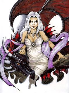 Game of Thrones - Daenerys Targaryen by Collette Turner *_____!!!!
