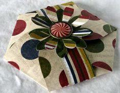más y más manualidades: Crea tarjetas o canastillas hexagonales usando un solo molde
