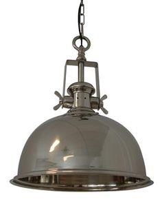 Kennedy Industri taklampe, blank 2000,-