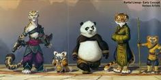 Картинки по запросу kung fu panda concept art