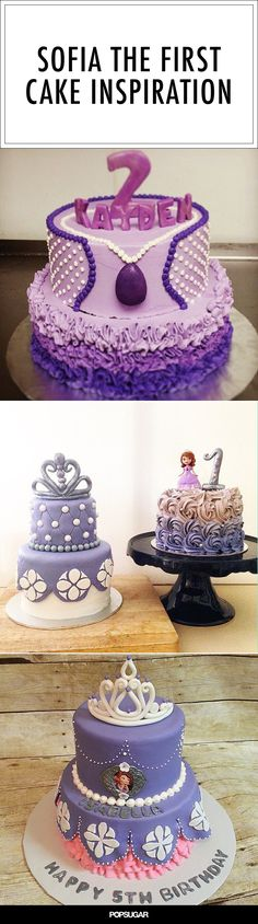 10 Sofia the First Cakes For Pint-Sized Princesses