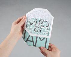 Los sobres también pueden tener un diseño creativo