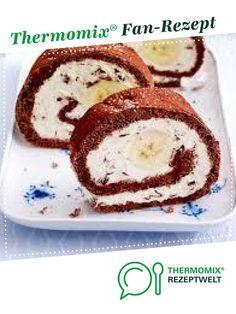 Banana split sponge roll-Banana-Split-Biskuitrolle Banana split sponge roll from buesab. A Thermomix ® recipe from the category baking sweet www.de, the Thermomix ® community. The Banana Splits, The Splits, Banana Bread Recipes, Cake Recipes, Punch Bowl Cake, Thermomix Desserts, Healthy Banana Bread, Lemon Desserts, Food Cakes