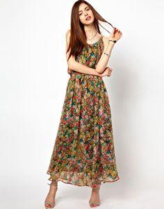 Just Female Floral Maxi Dress
