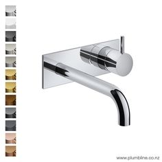 Buddy Wall Mount Mixer With Backplate
