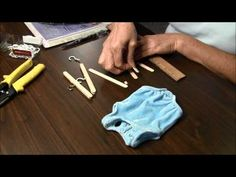 Doll Clothes Hanger (Doll Craft) - YouTube