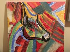 Calul de război Moose Art, Painting, Animals, Animais, Animales, Animaux, Paintings, Animal, Draw