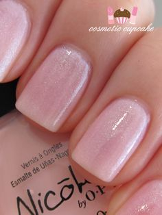 Nicole by OPI...Kim-pletely in Love...Kardashian Kolours...Tip: Use a white base coat to make the color more opaque.