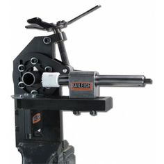 The hole saw tube notcher has a patented self-centering vise to help you stay on your mark. Buy your tube notching tools from Baileigh Industrial. Metal Working Tools, Metal Tools, Metal Projects, Welding Projects, Metal Crafts, Garage Tools, Garage Workshop, Cool Tools, Diy Tools