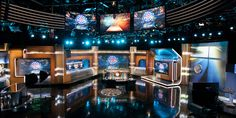 Sports Studios   AKA Creative Inc. Tv Set Design, Tv Sets, Studio Design, Liquor Cabinet, Theater, Studios, Creative, Sports, Home Decor