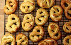soft pretzels  from smitten kitchen