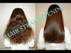 Hair Care My daily Hair straightening routine