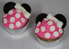Super cute idea for a Minnie Mouse themed party :)