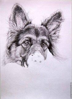 Хочу показать, как я рисовала карандашами (простыми) красавицу Цагириту. Она чистокровная немецкая овчарка (длинница), т.е. пушистая, яркая. И еще у нее замечательные, похожие на маслины темные глаза. Вот это все я захотела вместить в карандашную работу. Начали. Для работы понадобятся:- лист плотной бумаги А4;- простые карандаши (см. фото), в коробочках стержни для механических карандашей 0,5;-…