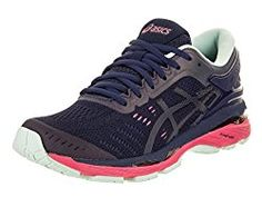 buy online 194b2 fceb7 Asics Women s Gel-Kayano 24 Lite-Show Indigo Blue Black Reflective Running  Shoe