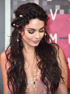 Because what is the VMAs if not a formal Coachella? | Vanessa Hudgens' Dress Confirms That The VMAs Are Basically Formal Coachella
