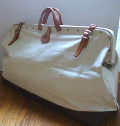Bolen Extra LArge Canvas Tool Bag. by TheOldBagOnline on Etsy, $69.99
