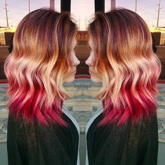Sunset Hair Has Arrived And It's Drop Dead Beautiful