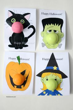 Make these Printable Halloween Gifts for your family and friends. Great NON-Candy Halloween Gift Idea!Halloween-Printables-EOS Make these Printable Halloween Gifts for your family and friends. Great NON-Candy Halloween Gift Idea! Halloween Teacher Gifts, Fröhliches Halloween, Adornos Halloween, Holidays Halloween, Halloween Treats, Halloween Decorations, Halloween Printable, Halloween Office, Halloween Items