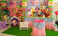 Littlest Pet Shop Party Google 9th Birthday, Girl Birthday, Birthday Parties, Little Pet Shop, Princess Party, Lps, Minis, Smurfs, Party Favors