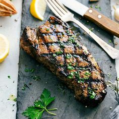How to grill the most delicious, juicy, and tender steak! Plus, an insanely good steak marinade recipe -- perfect for budget steaks!
