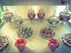 dessert table roma cake pops e caramelle