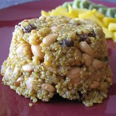 Spiced Quinoa- 2+tsp curry. heaping 1/2 tsp cumin. Really good. Cannellini beans work well